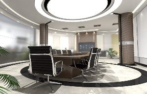 Ambler AK commercial designed board room
