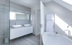 Tanacross AK interior designed bathroom