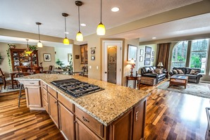 State Line MS residential designed kitchen